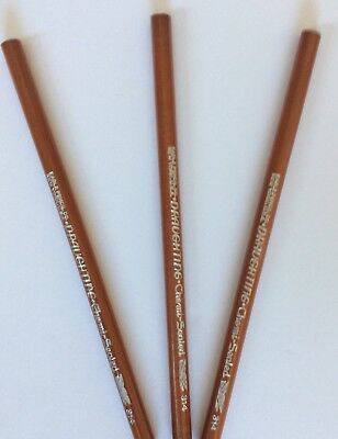 Vintage EAGLE DRAUGHTING 314 Artist Drafting Pencils Lot Of 3 NOS