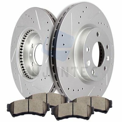 Front Discs Brake Rotors Ceramic Pads For 2007-2009 2010 Ford Lincoln Mazda 6
