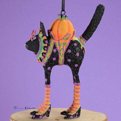 Patience Brewster Halloween Mini Black Cat Ornament 31031