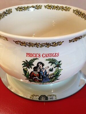 Lord Nelson Pottery Chamber pot Advertising Prices  Candles/Quaker Oats/Bovril