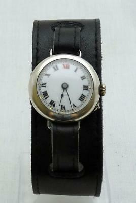 WWI Silver Trench Watch.
