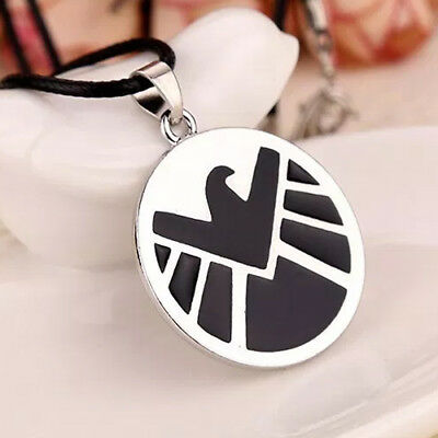 S.H.I.E.L.D. Necklace SHIELD Marvel Captain America Iron Man Nick Fury