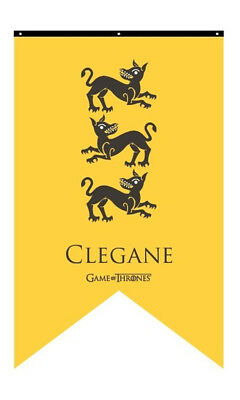 Game of Thrones Clegan 30 x 50 in House Banner