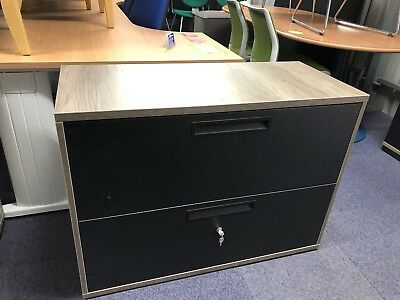 Brand New Executive Lateral Filing Cabinets 2 Drawers (10 In Stock) £99 Each