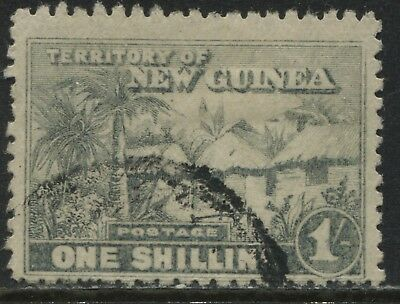 New Guinea 1925 1/ gray green used