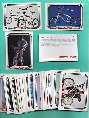 1984 Bmx 59 Card Complete Set Of Trading Cards * Nmt-Mt *