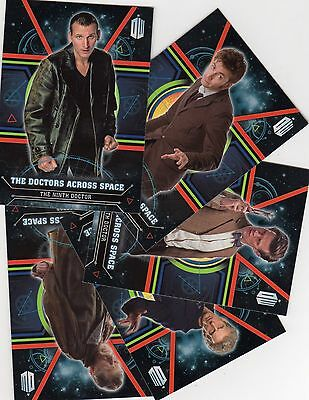 Doctor Who Topps Extraterrestial Encounters 4 Doctor cards your choice