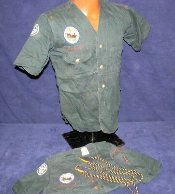 Vintage Boy Scouts Explorers Uniforms 1953 Irvine California Jamboree Reading Pa