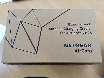 #2076 New Netgear Ethernet And Antenna Charging Cradle For Aircard 782S