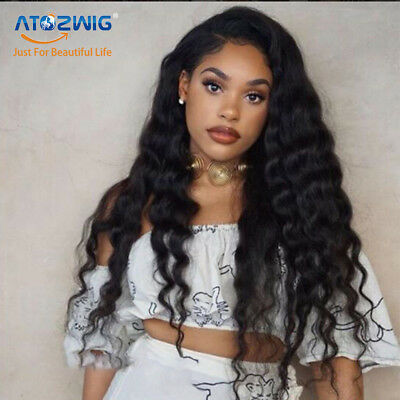 Black Kinky Curly Synthetic No Lace wig High Density Hair Wigs For Women