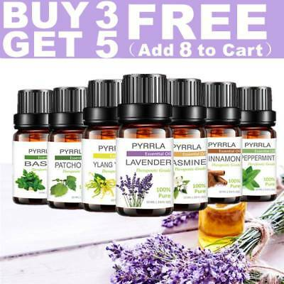 PYRRLA Essential Oil Oils Fragrance 10ml Pure Nature BUY 3 GET 5 FREE Crazy Sale
