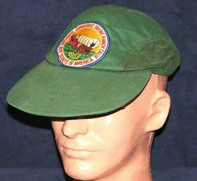 Vintage Boy Scouts 1953 National Jamboree Irvine Ranch California Baseball Cap