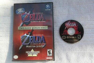 The Legend of Zelda: Ocarina of Time MASTER QUEST  Nintendo Gamecube