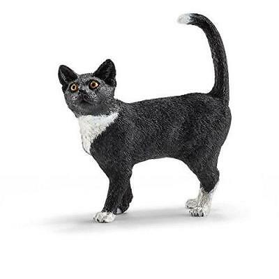 Schleich Cat, Standing Toy Figure EC - '13770 - Action Figures & Statues