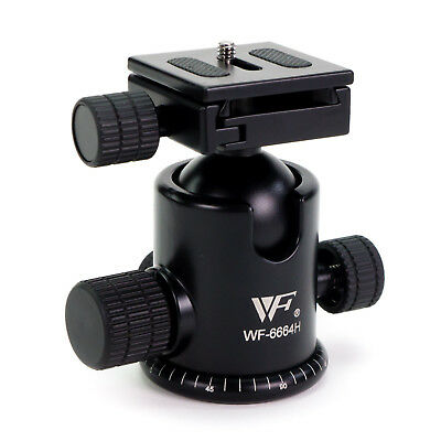 Professional Ball Head with Quick-Release Plate for Camera Tripod Ballhead