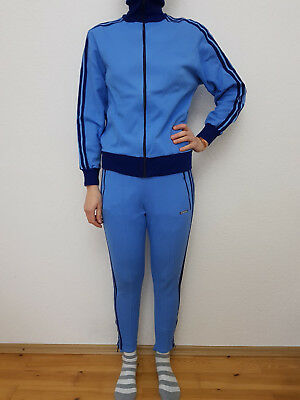 ADIDAS Trainingsanzug Sportanzug Track Suit Gr. 3 = S Vintage 60er TRAUM RAR