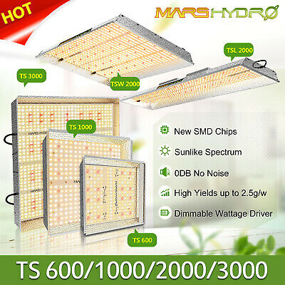 Mars Hydro TS 1000W 2000W LED Grow Lights Full Spectrum Indoor Plant Veg Flower