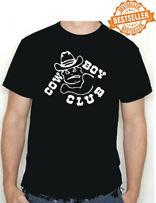 COWBOY CLUB T-shirt / Line Dancing / Rodeo / Indian / Horse / Dallas / All Sizes