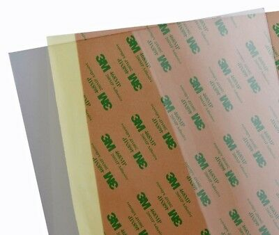 254x224x0.2 PEI adhesive backed sheet for 3D printers Prusa i3 Mk2 and others