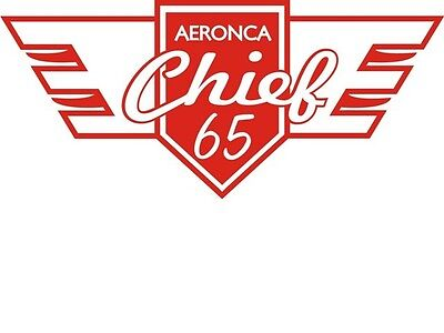 AERONCA AIRCRAFT LOGO,DECAL//STICKER 7.25/'/'/'H X 7.25/'/'W!