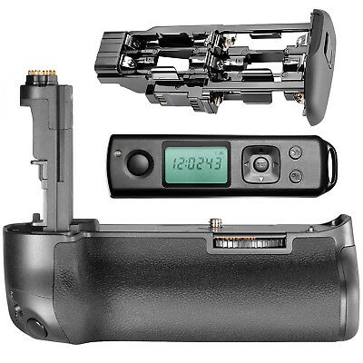 Neewer LCD Wireless Remote Control Battery Grip for Canon 5D Mark III 5DS 5DS R