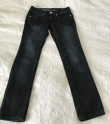 GUESS Girls Daredevil Skinny Leg JEANS Size 7 EXC!!!