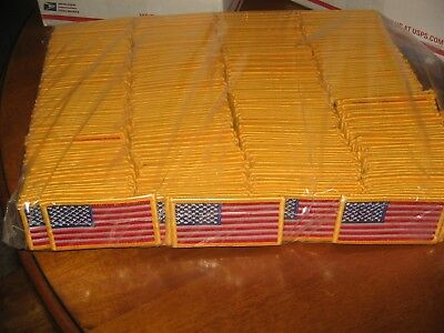 (20) United States American Patriotic Forward Facing Flag Patches Dealers Lot