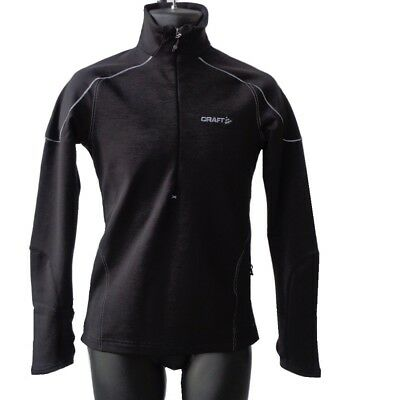 Craft Woolstretch Performance Layer 2 Mens Pullover - Perfect For Bikers!