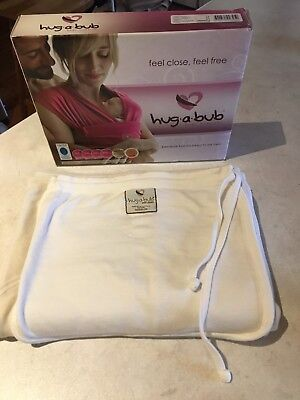Hug A Bub Wrap Organic Cotton Baby Carrier Excellent Condition