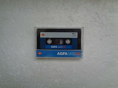 Vintage Audio Cassette AGFA LNX 60 From 1982 - Excellent Condition !