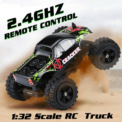 Virhuck 1:32 2.4GHz 2WD Off-road RC Racing Car Truck 20km/h High Speed Vehicle