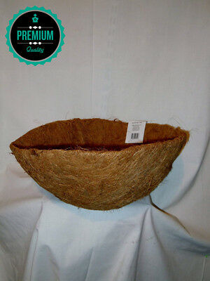 apollo, round coco liner, for hanging baskets and tubs. 12""