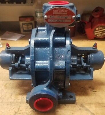 Pentair Aurora Turbine Pump Model: 114A Two Stage G4T New!