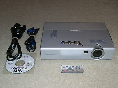 Panasonic PT-LB10SE LCD Projector Data/Video/HDTV/HD-Ready Projector - PT-LB10