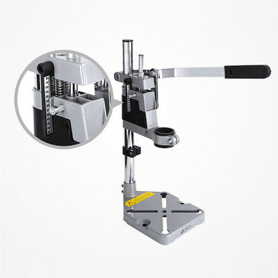 Drilling Metal Base Drill Holder 43mm Drill Stand Holes Clamp Bench Press Stand