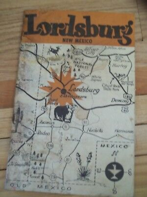 1960's Lordsburg   New Mexico  area City Guide