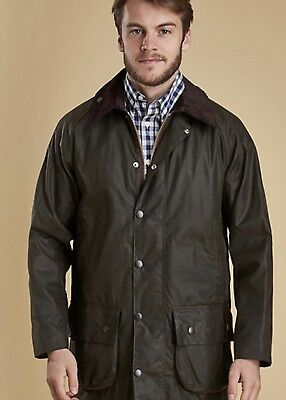 Barbour Beaufort 42 Jacket Olive Green Large NWT New