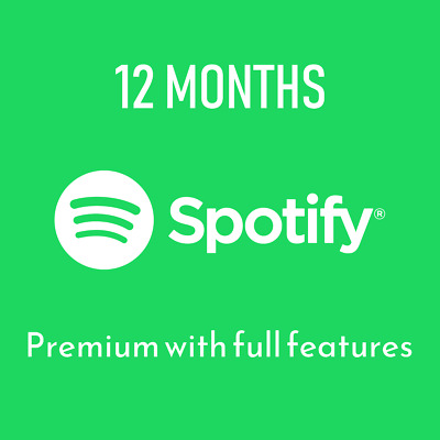 Spotify Premium - 12 months - Personal account - Worldwide