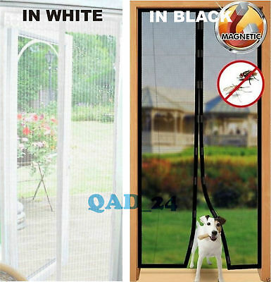 MAGIC Magnetic Insect Door Net Curtain Screen Bug Mosquito Fly Insect Mesh Guard