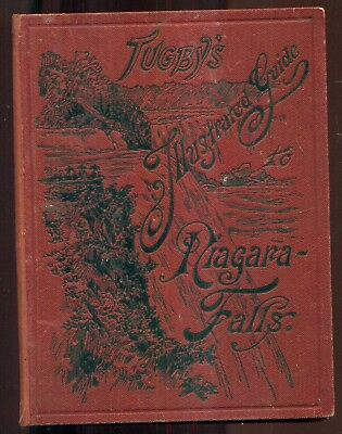 1876 Tugby's Illustrated Guide to Niagara Falls-Maria Spelterina Tightrope Walk