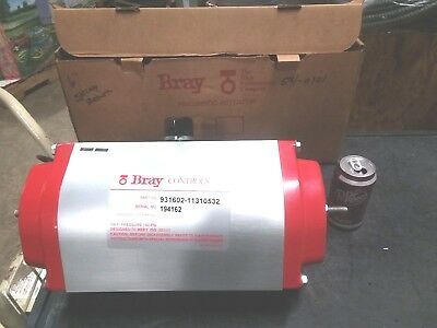 "Bray P/N 931602-11310532 6"" Spring Return Air Operated Valve Actuator"