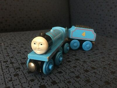 Gordon and Tender - Wooden Toy Train - Thomas the Tank Engine and Friends