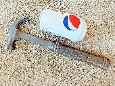 Estwing 16 Oz Hammer Good Condition Leather Handle Made In Usa