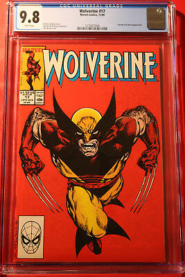 Wolverine Issue #17 Cgc 9.8 Nm/mt W Pgs 1988 Marvel Classic John Byrne Cover