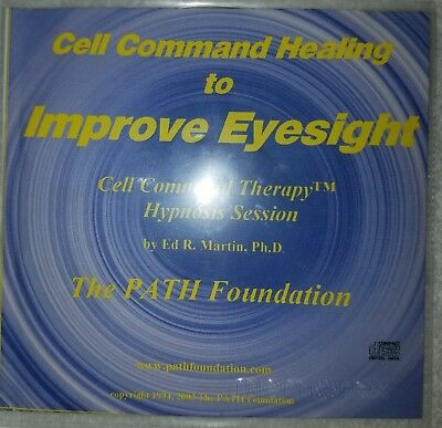 Audio CD: Improve Eyesight with Cell Command Therapy by Ed Martin