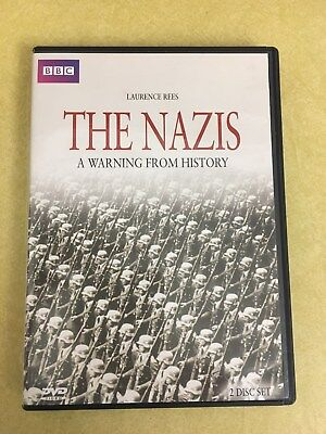 THE NAZIS A WARNING FROM HISTORY - DVD  MCPS, 2 Disc Set 290 Minute