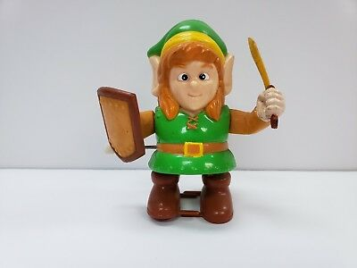 Link Legend Of Zelda Nintendo NES 1989 Wind up Walking Vintage Toy Figure Rare