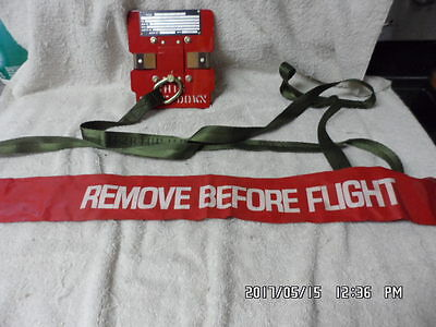 Remove Before Flight On Aircraft Aviation Environment Containment System Cover