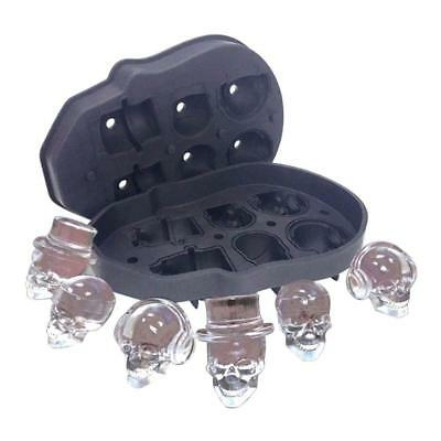 Ice Cube Moulds 3D Skull Multi Shape Mold Tray Creative Drink Cooling Cocktails