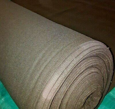 """Heather /Olive Green Wool Melton Fabric, 80% Wool, 58"""" Wide, 20 oz., By the Yard"""